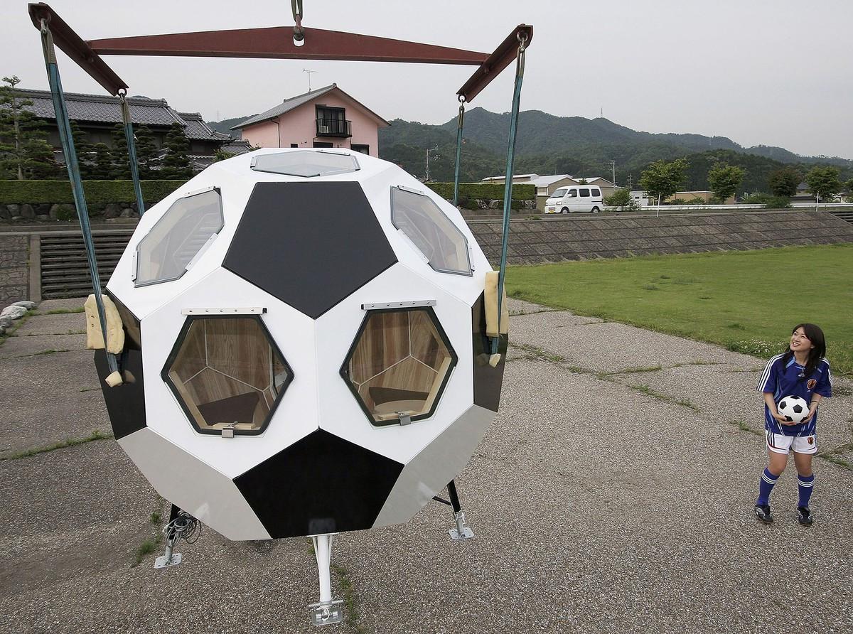 Casa minge de fotbal