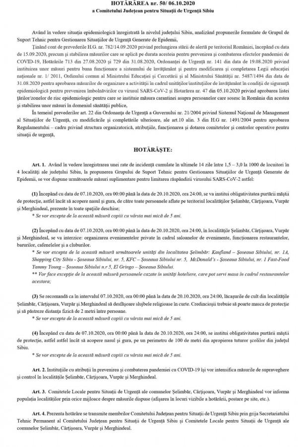 interzisă organizarea de evenimente private