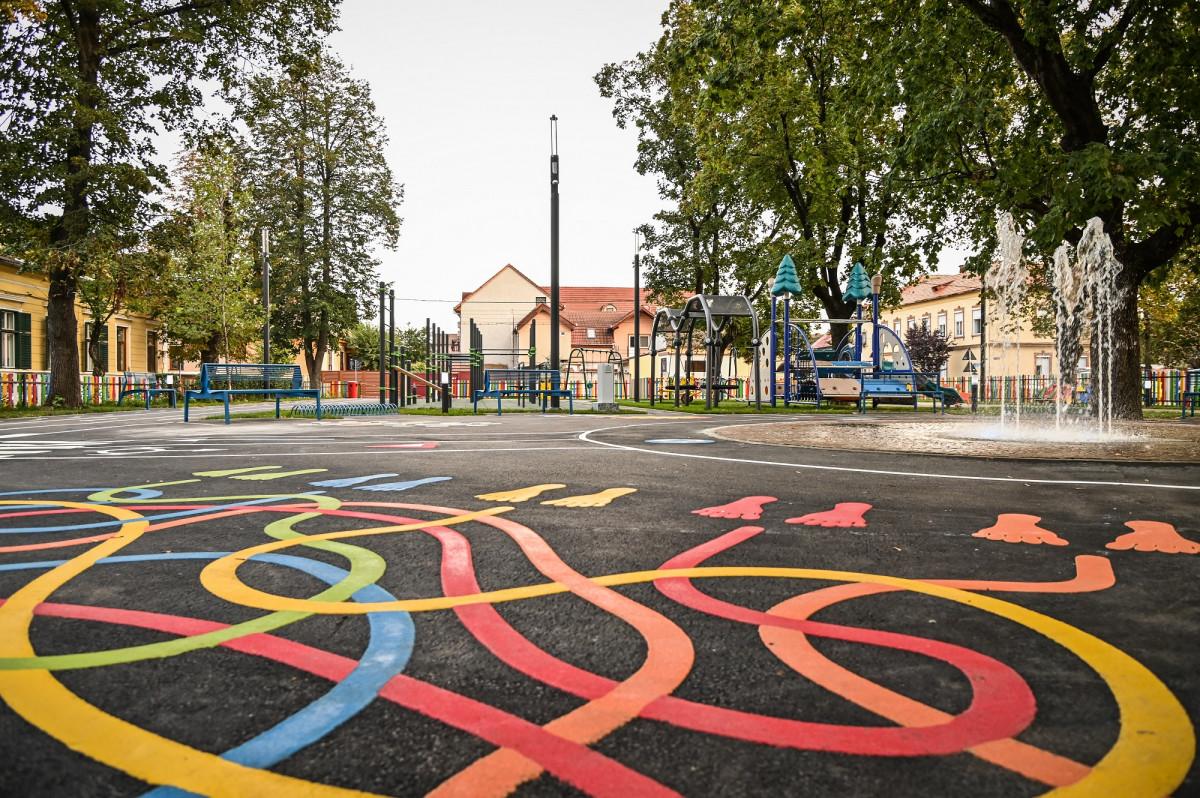 Primăria Sibiu a reamenajat unul dintre aceste locuri de liniște
