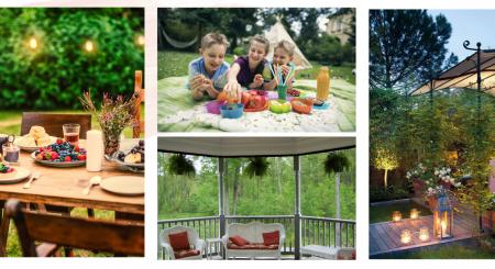 Zile de vară în curte. Cum ne ferim de țânțari și muște?