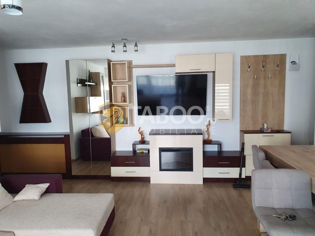 Apartament modern de inchiriat 3 camere si terasa Kogalniceanu Sibiu 1