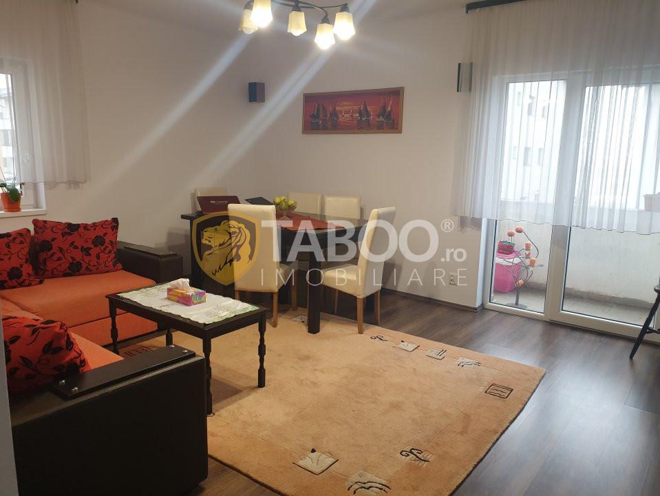 Apartament 3 camere 3 balcoane de vanzare Sibiu zona Calea Cisnadiei 1