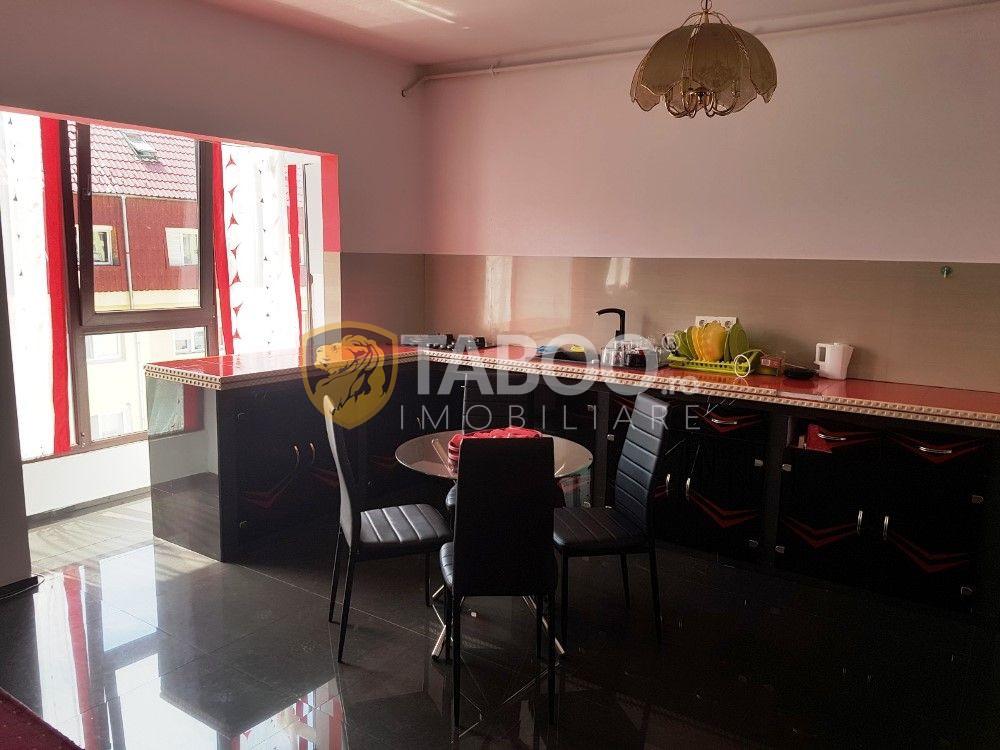 Apartament cu 4 camere de inchiriat 128 mp Nicolae Iorga din Sibiu 4