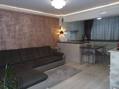 Apartament 3 camere etaj intermediar mobilat utilat Sibiu zona Garii