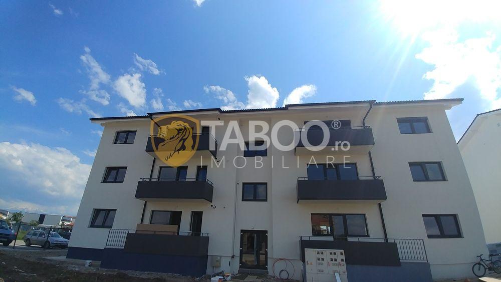 Apartament cu 3 camere si gradina de vanzare in Selimbar Comision 0 1