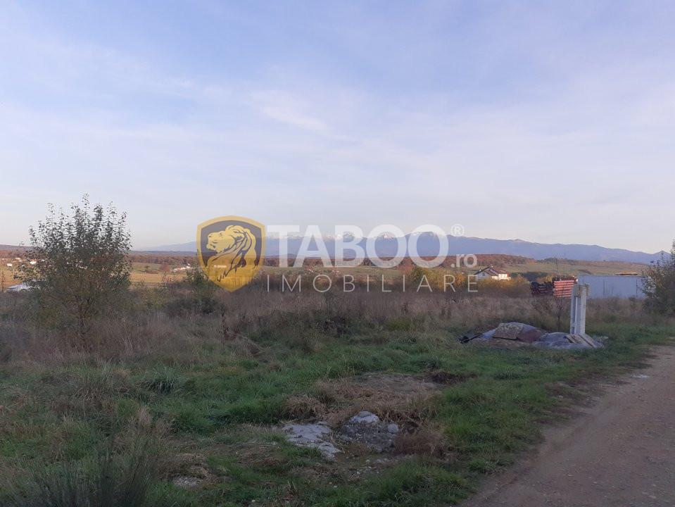 Teren intravilan 500 mp PUZ utilitati pe teren Arhitectilor Sibiu 1