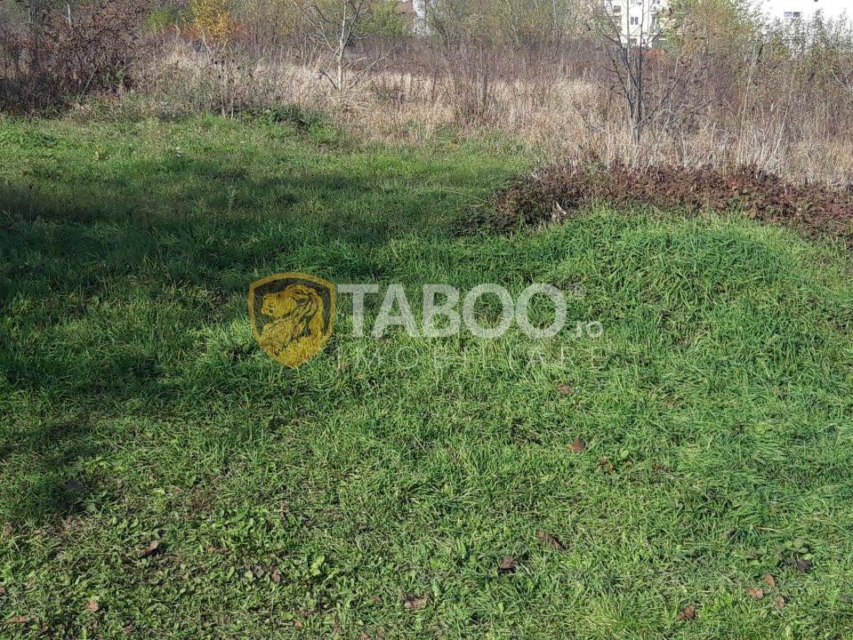 Teren intravilan 500 mp PUZ aprobat + 108 mp cota drum Selimbar Sibiu 1