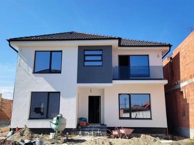 Casa individuala 126 mp si teren Selimbar zona Triajului