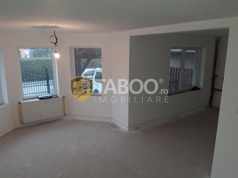 Casa individuala 4 camere 130 mp utili carpot zona Pictor Brana Sibiu 1