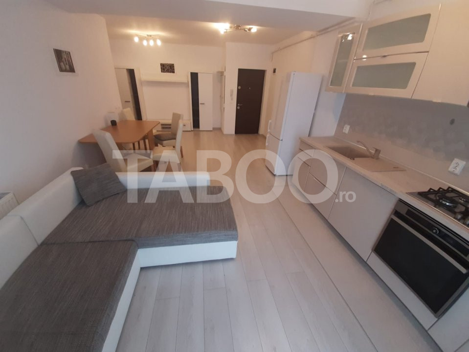 Apartament modern de inchiriat 2 camere si balcon City Residence Sibiu 1