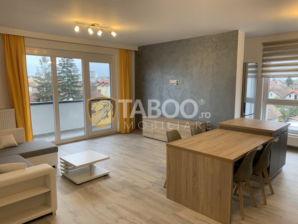 Prima inchiriere! Apartament 3 camere lux 95 mp Calea Dumbravii Sibiu 1