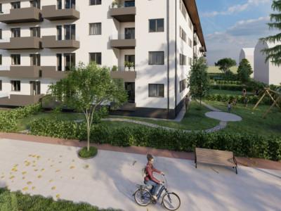 De vanzare apartament la parter cu 2 camere si gradina in Selimbar