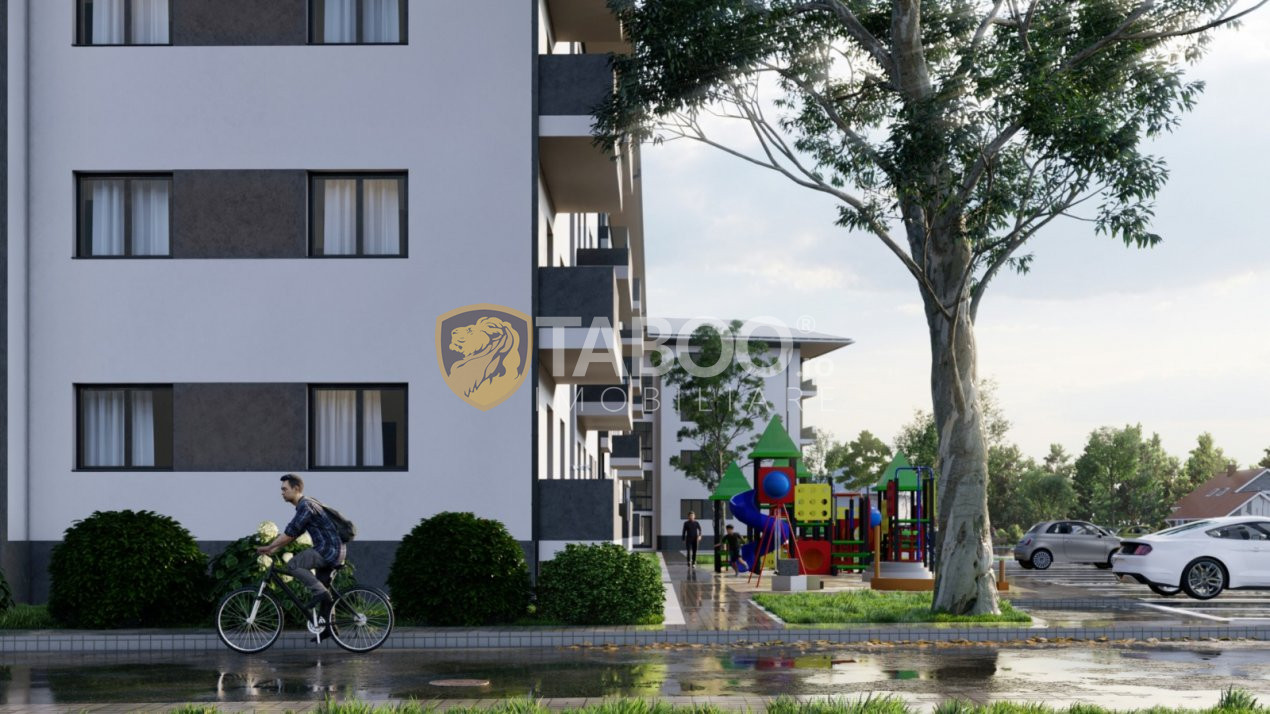 Apartament de vanzare 3 camere 2 bai gradina 70 mp in Selimbar 1