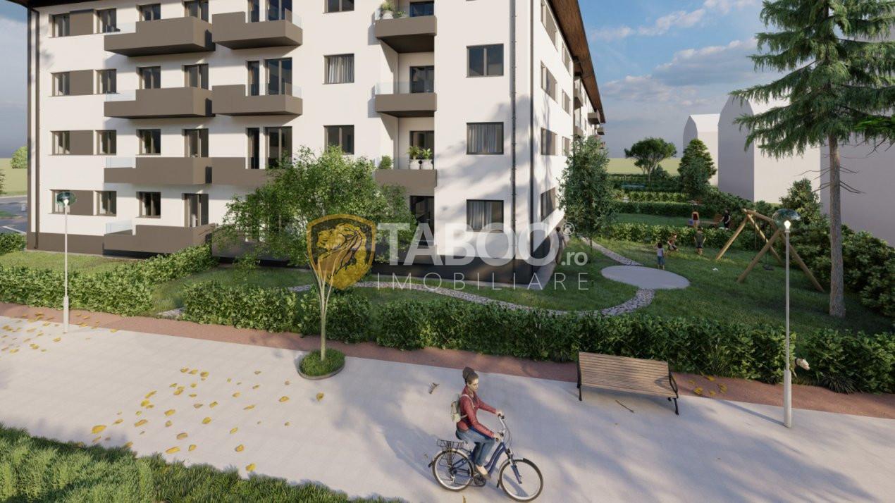 Apartament nou de vanzare cu 2 camere  in Selimbar strada Ion Ratiu 1