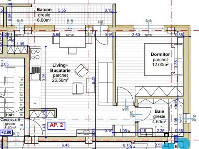 Apartament 2 camere 43 mp utili constructie noua Pictor Brana Selimbar