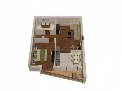 Apartament 2 camere decomandate de vanzare in Sibiu COMISION 0%