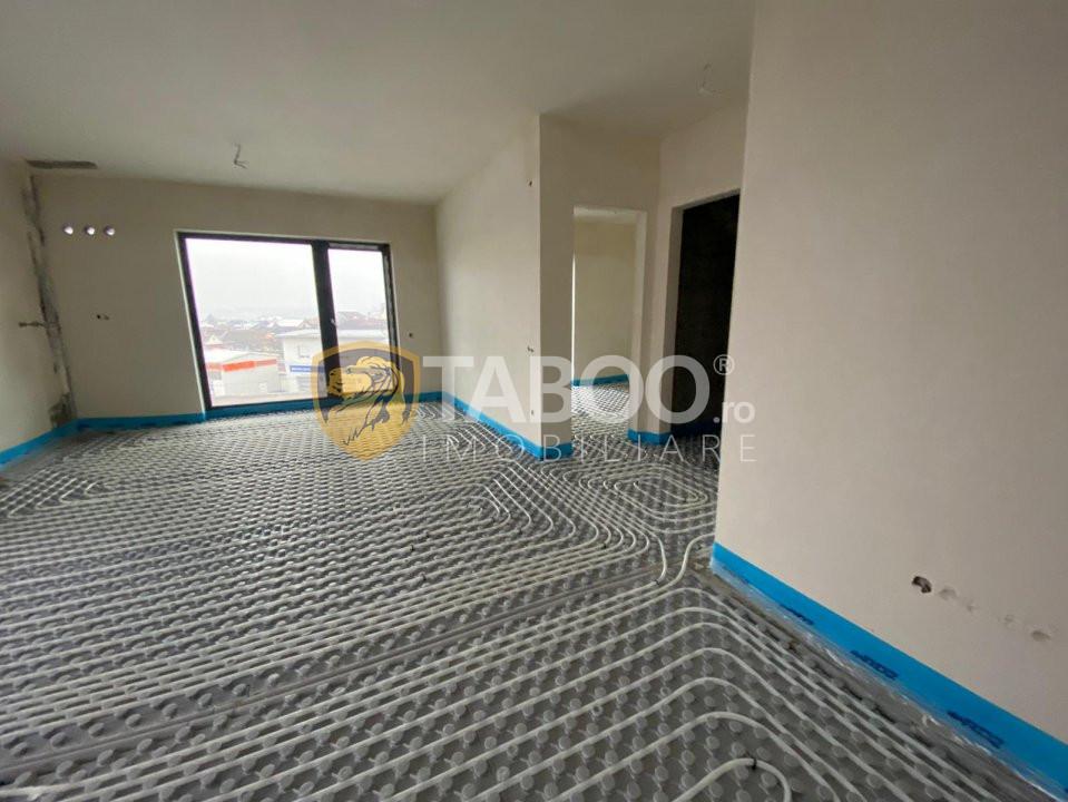 Apartament de vanzare 2 camere incalzire pardoseala Sibiu Turnisor 1