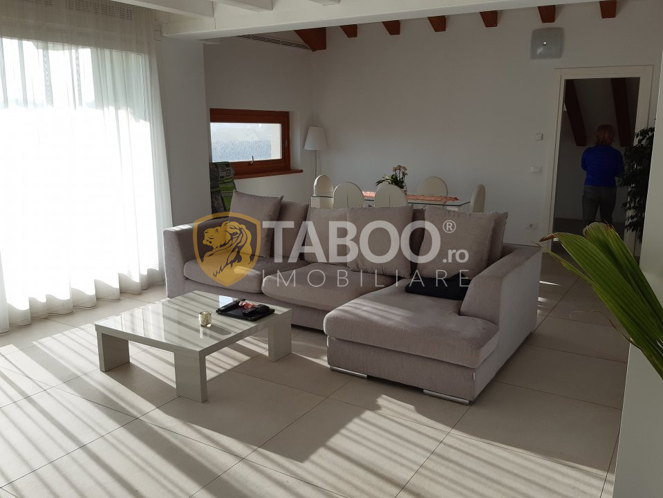 Apartament 3 camere 120 mp la mansarda de inchiriat Calea Dumbravii Sibiu 2