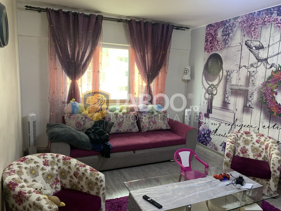 Apartament 2 camere mobilate de vanzare zona OMV Vasile Milea in Sibiu 2