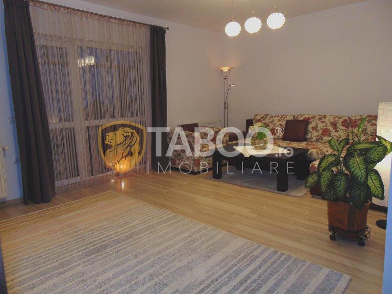 Apartament de vânzare 3 camere complet mobilat 74 mp utili in Șelimbăr 1
