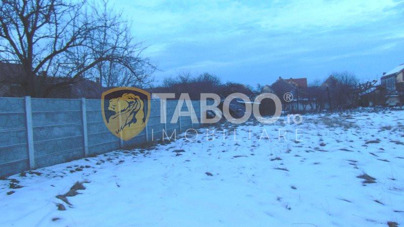 Teren intravilan 640 mp casa individuala de vanzare Piata Cluj Sibiu 1