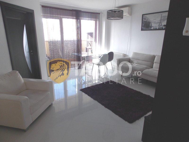Apartament complet utilat 3 camere de inchiriat Sibiu Turnisor 1
