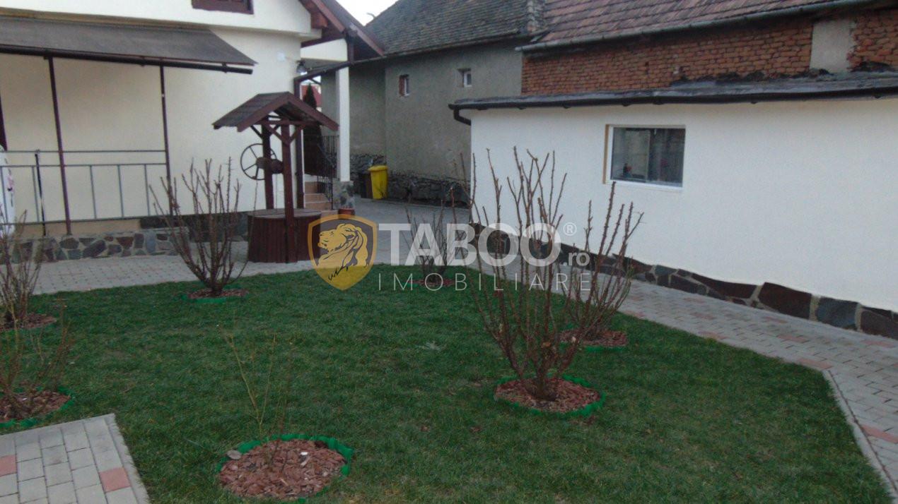 Casa individuala 134 mp un singur nivel 3 camere centru Selimbar Sibiu 1