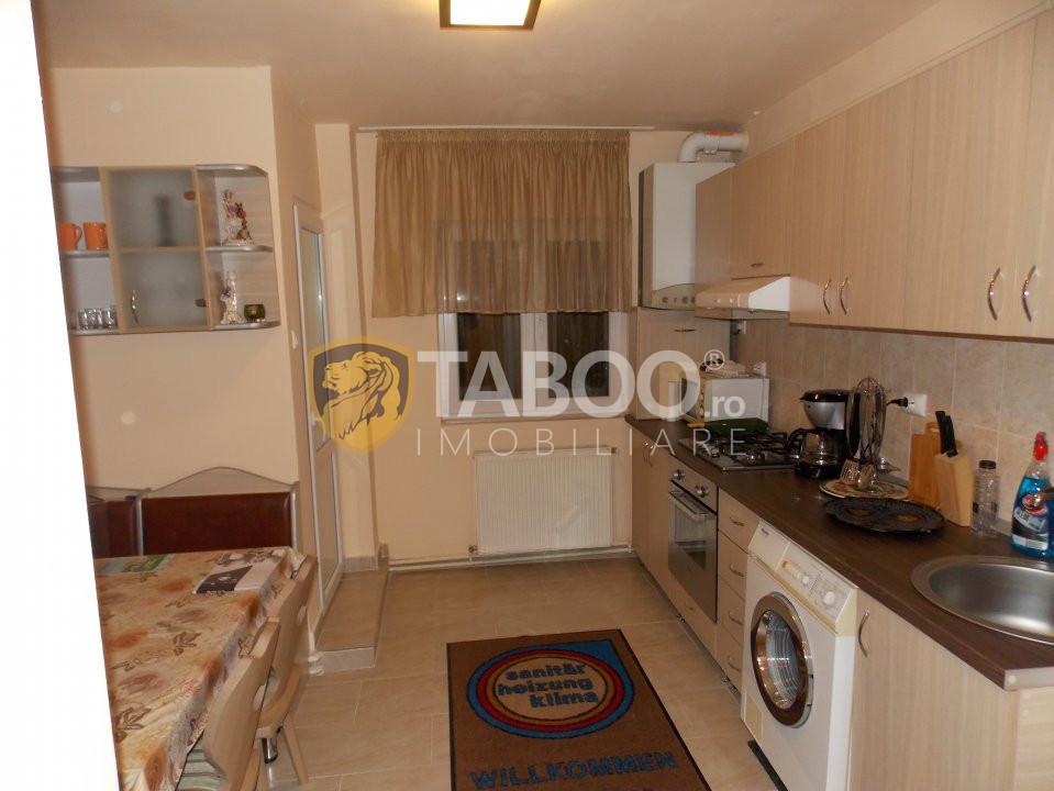 Apartament 2 camere etaj intermediar de vanzare in Sibiu zona Turnisor 2