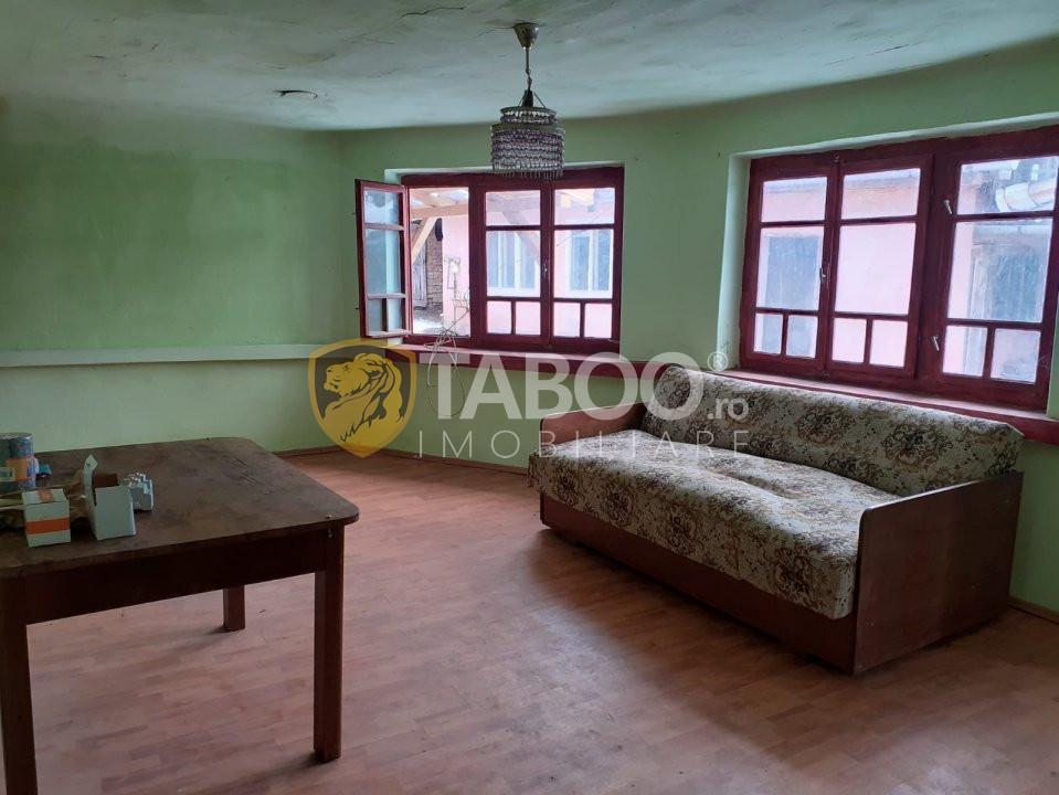 Casa individuala 1288 mp de vanzare in Sibiu sat Noul Roman 2