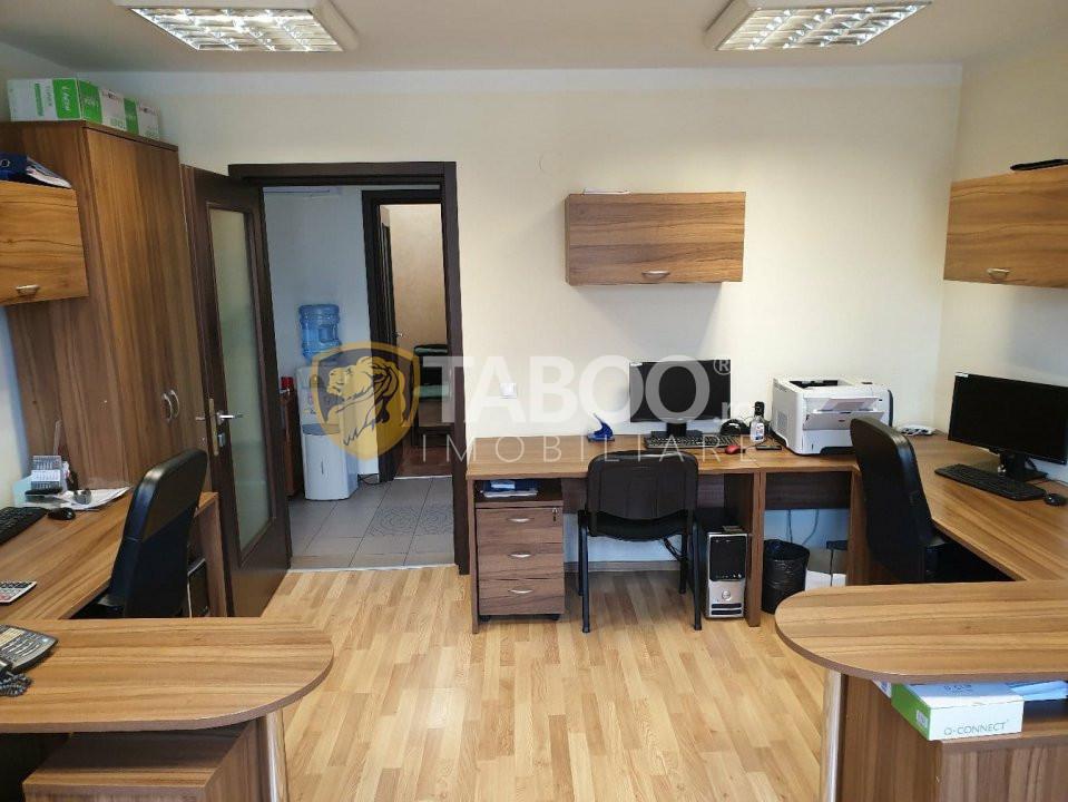 Spatiu de birouri de vanzare in Sibiu 4 camere zona Calea Dumbravii 1