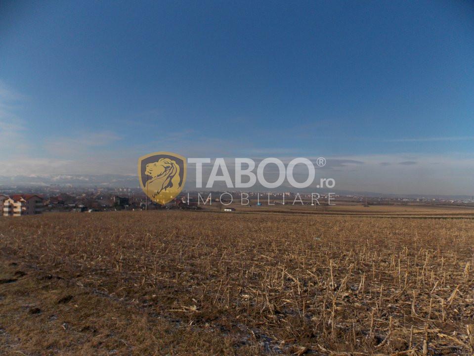 Teren intravilan 900 mp de vanzare in Sibiu zona Gusterita 1