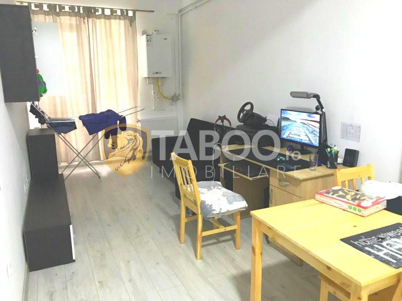 Apartament 2 camere parter inalt, parcare de vanzare Dedeman Sibiu  1