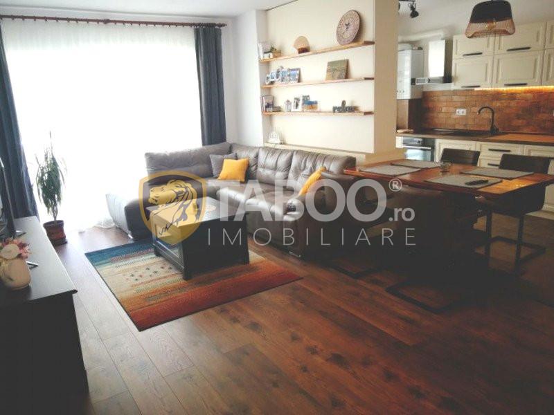 Apartament de vanzare 3 camere 72 mp utili parter Piata Cluj Sibiu 1