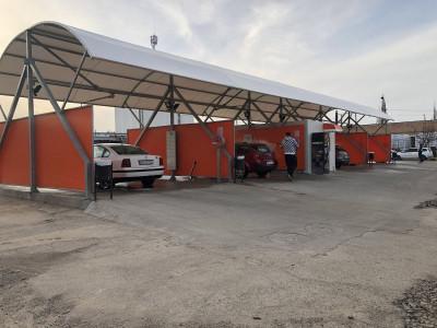 Afacere spalatorie auto de vanzare teren 1500 mp zona Terezian Sibiu