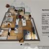 Apartament 2 camere etaj retras si terasa de vanzare Turnisor Sibiu thumb 1