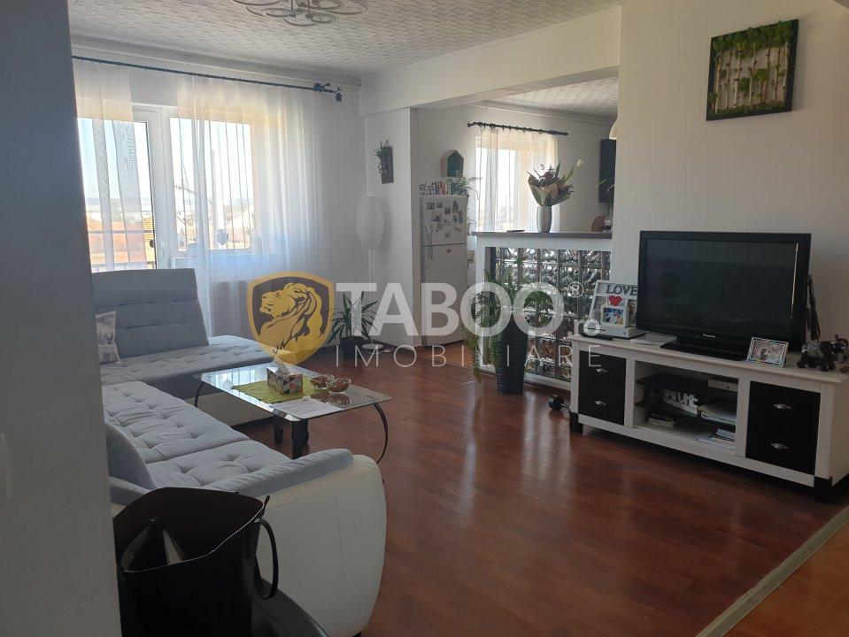 Apartament de vanzare 5 camere pe 2 nivele zona Turnisor Sibiu 1
