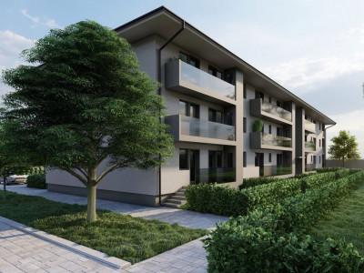 Apartament 2 camere terasa la parter de vanzare in zona Dedeman Sibiu