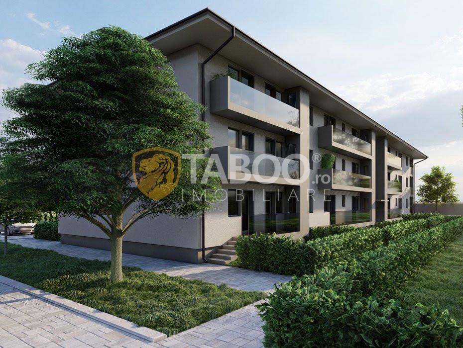 Apartament 2 camere terasa la parter de vanzare in zona Dedeman Sibiu 1