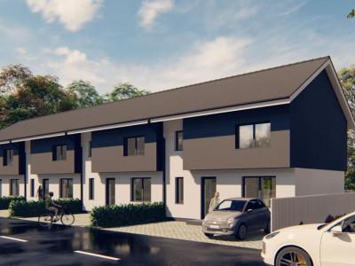 Casa 4 camere 98 mp utili P+1E de vanzare zona Brana din Selimbar