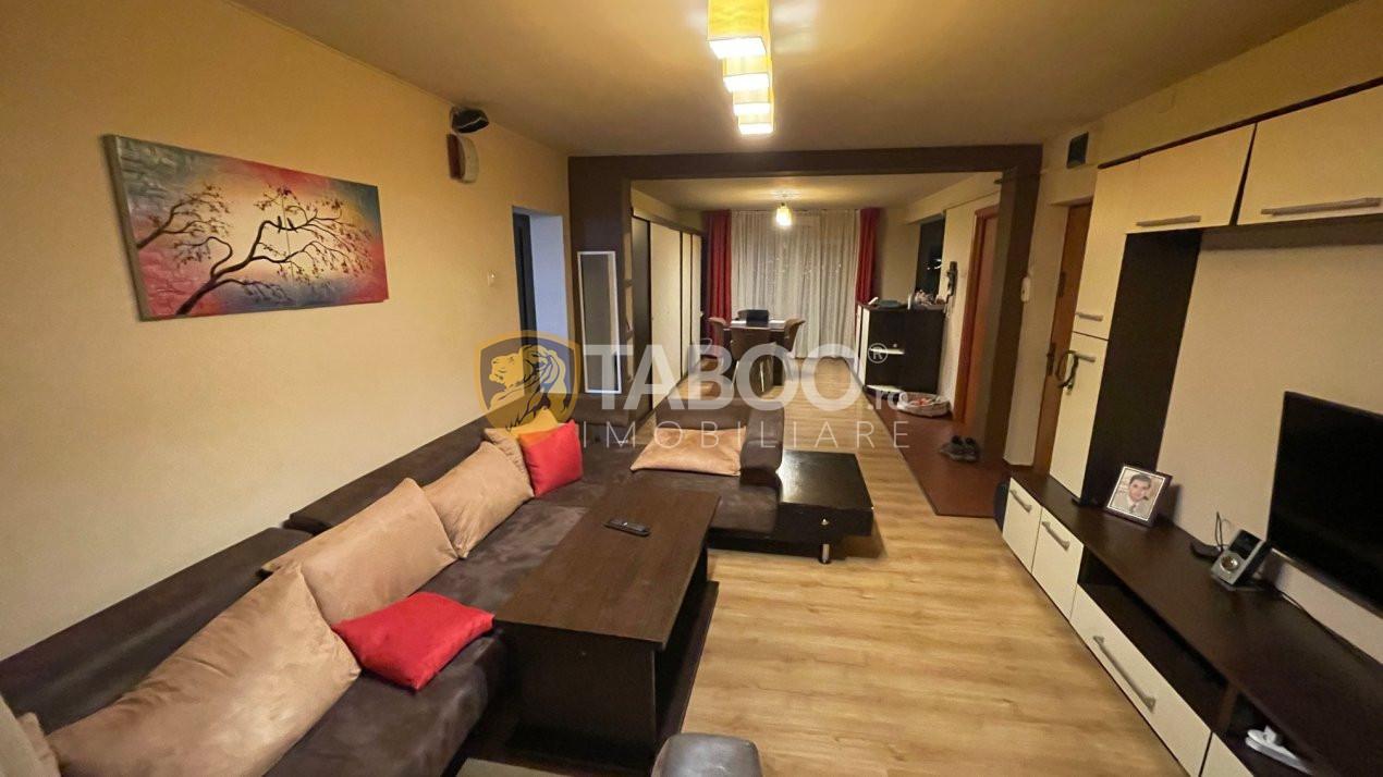 Apartament 3 camere 100 mp utili de vanzare in Sibiu zona Strand 2