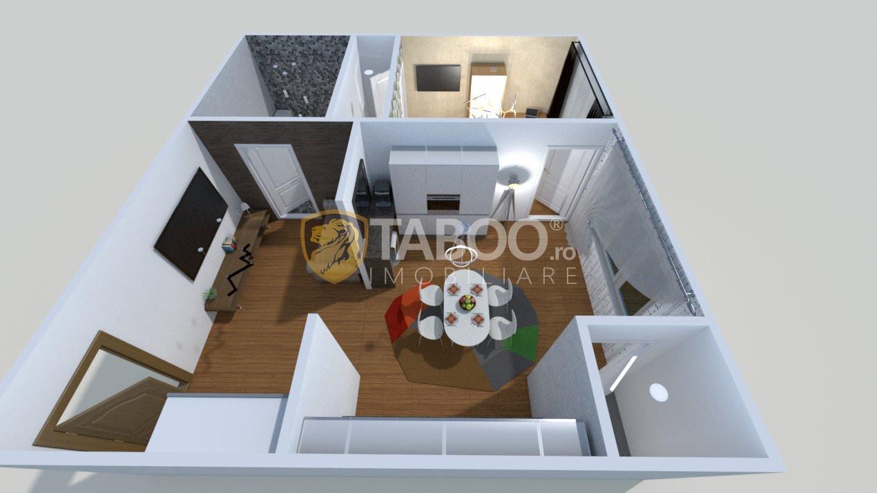 Apartament cu loc de parcare de vanzare Sibiu Cartierul Arhitectilor 1