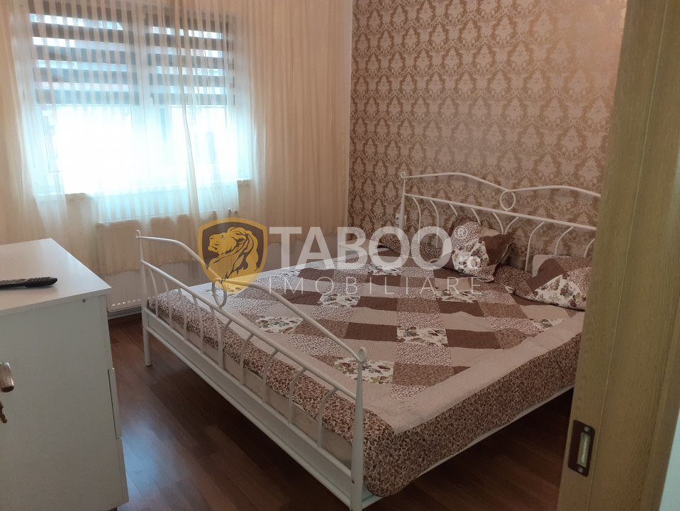 Apartament la parter de inchiriat 3 camere 68 mp pivnita Strand Sibiu 1
