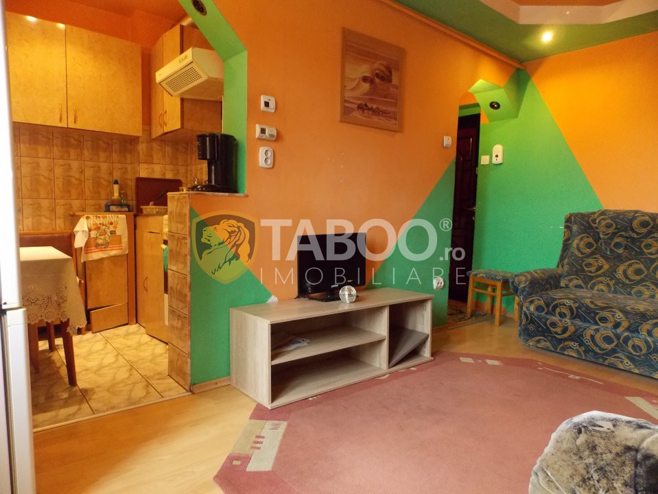 Apartament 2 camere de vanzare in Sibiu zona Tiglari 1