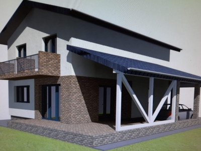 Casa individuala cu 4 camere de vanzare zona Veterani Sibiu