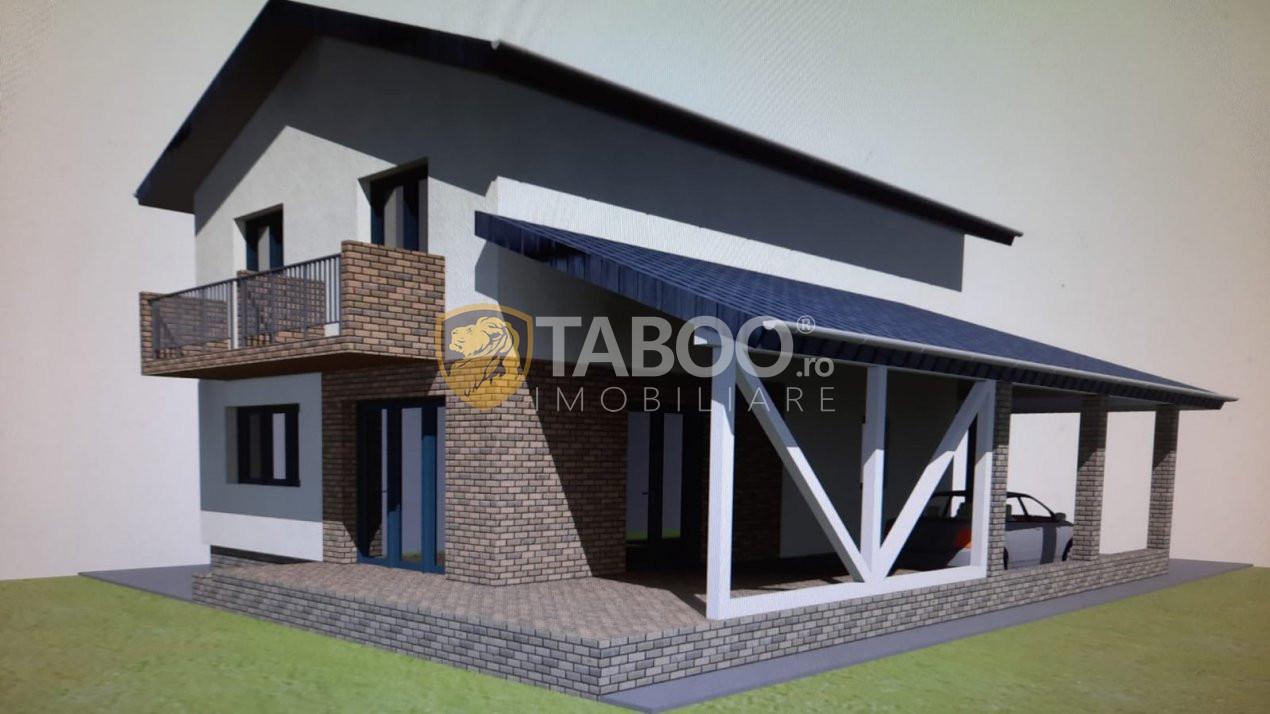 Casa individuala cu 4 camere de vanzare zona Veterani Sibiu 1