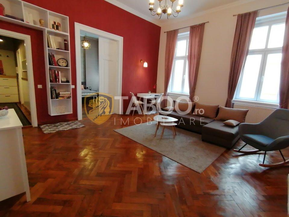 De inchiriat apartament 2 camere zona Centrul Istoric Sibiu 1