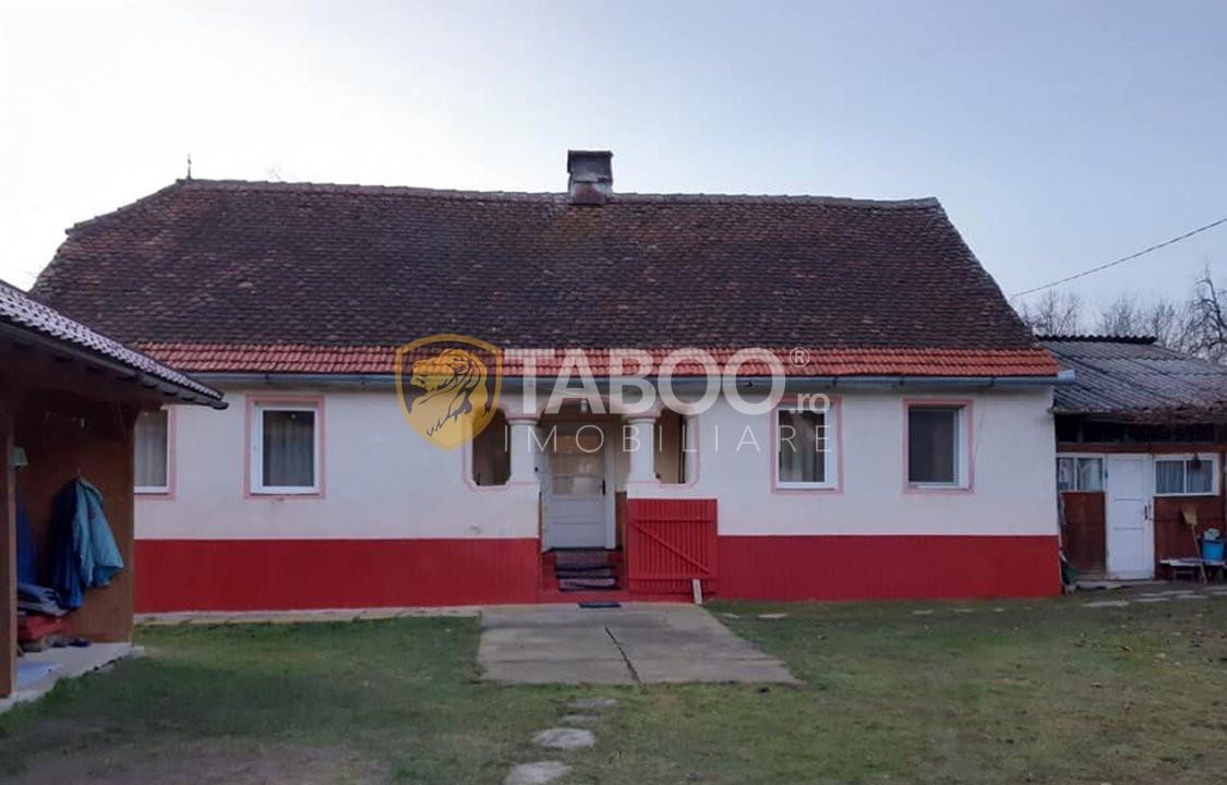 Casa de vanzare in Sibiu sat Sarata cu vedere la muntii Fagaras 1