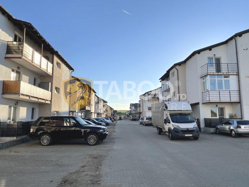 Apartament decomandat de vanzare 2 camere Selimbar cu gradina 1