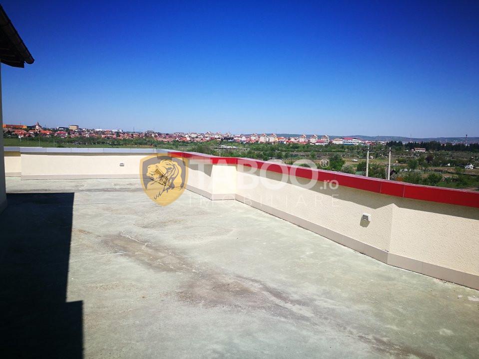 Penthouse finisat 396 mp 3 camere garaj terasa de vanzare Strand Sibiu 3