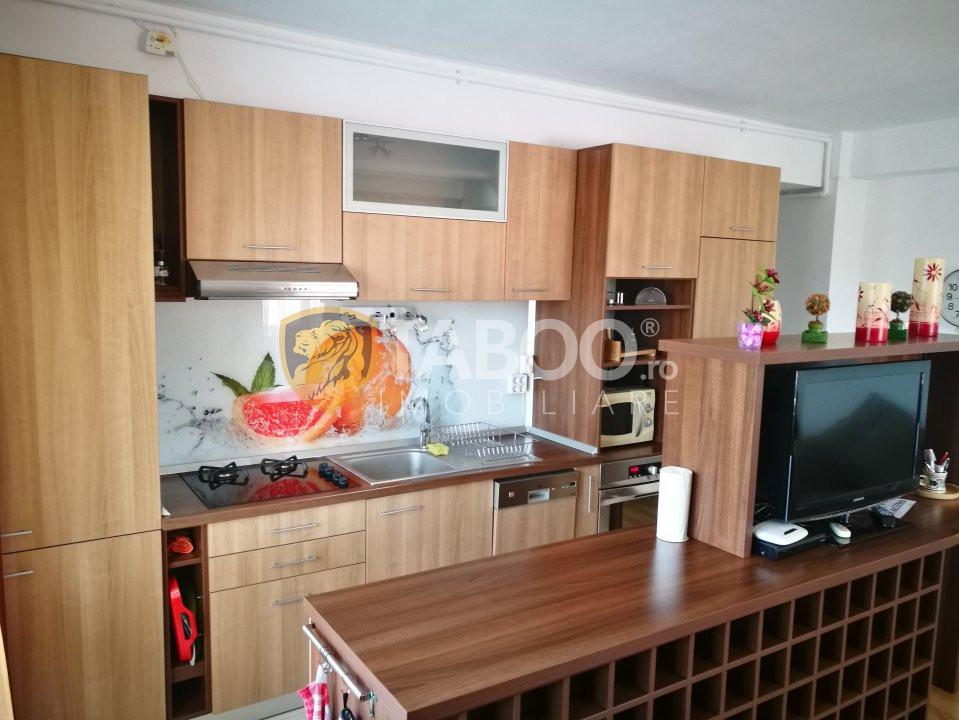 Apartament 3 camere cu garaj de inchiriat 75 mp Calea Dumbravii Sibiu 1